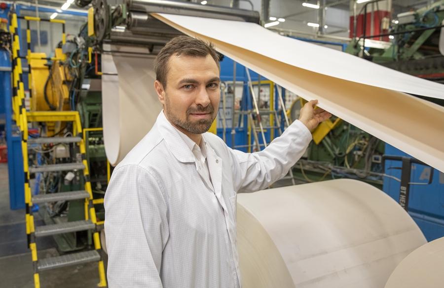 Marcin Stoiński, Production Manager, DUNI Poland